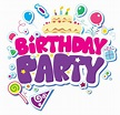 Birthday party clipart 20 free Cliparts | Download images ...