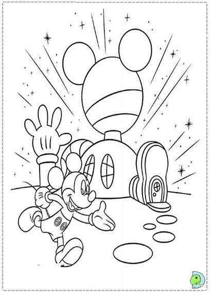 Mickey Clubhouse Mouse Coloring Pages Disney Sheets