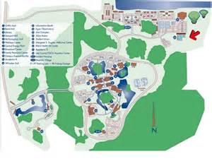 Florida Gulf Coast University Map