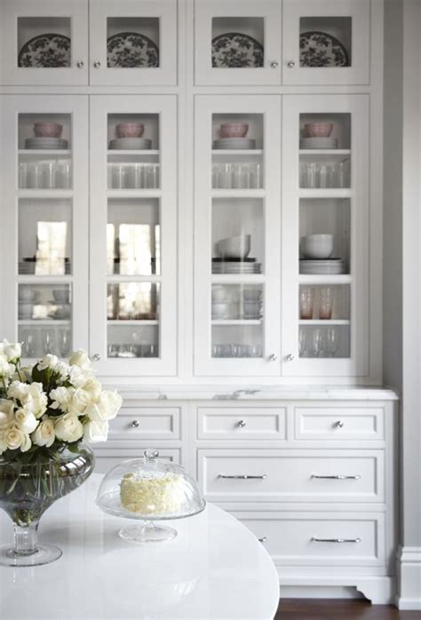 kitchen cabinets with glass on top sideboards astounding white hutch with glass doors white