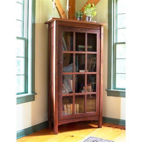 Bookcase Glass Door by Vermont Made Wooden Shaker Bookcase With Glass Doors