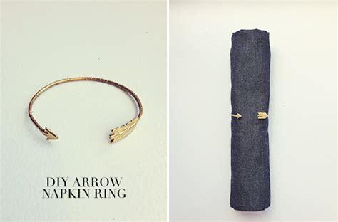 Napkin Ring   10 Super Adorable Arrow DIY Ideas   DIY