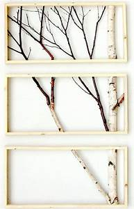 Framed birch art totally going to do this with my old