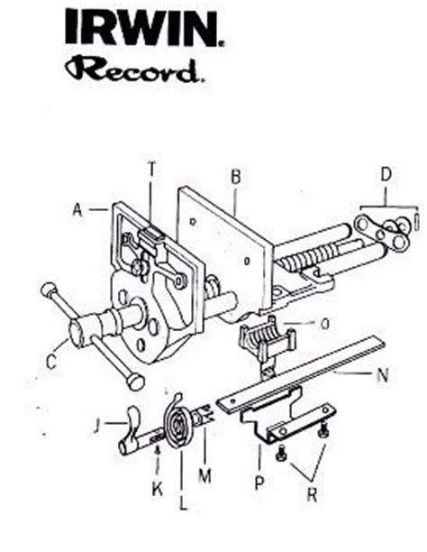 woodworking ottawa record woodworking vice parts