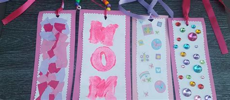Easy Mothers Day Bookmark Gifts For Kindergarten Simply