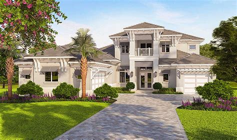 High-end Florida House Plan