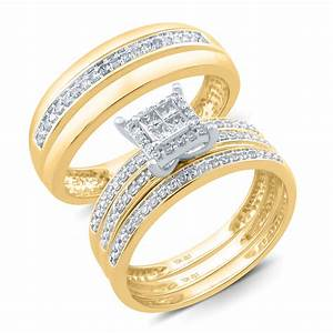 sears jewelry gold diamond rings wedding promise With gold and diamond wedding ring sets