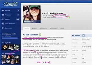Sample profiles for online dating for Okcupid profile template
