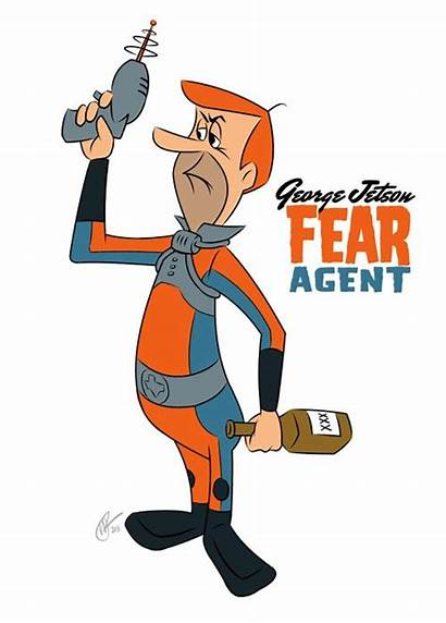 Jetson George Fear Agent Clipart Jetsons Meet