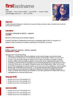 free cv template http webdesign14