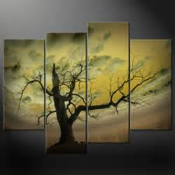 abstract sky tree canvas wall art pictures prints decor