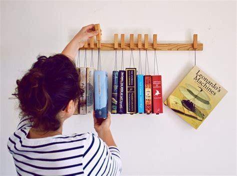 Hanging Book Rack   The Green Head