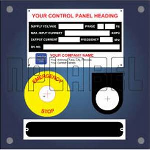 electrical control panel labels and stickers in odhav With electrical control panel labels