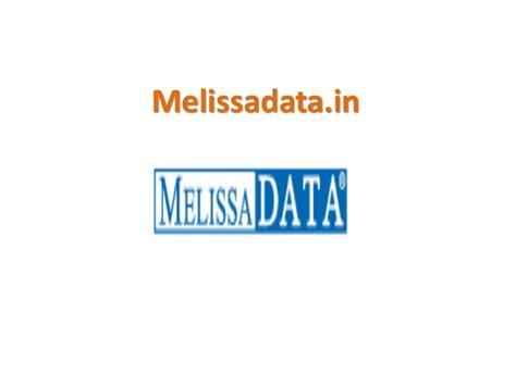 international address verification api melissadata