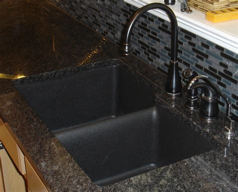 composite granite sinks kitchen traditional with kitchen