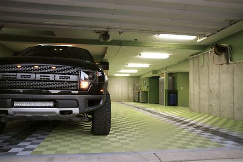 RaceDeck Free Flow   Self Draining Garage Flooring