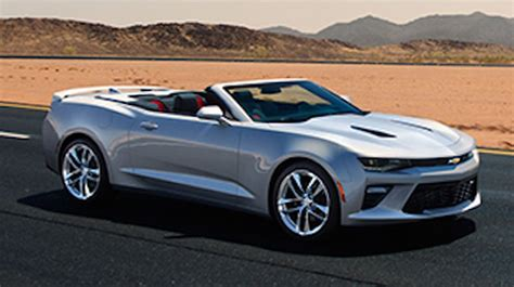 Convertible Camaro by New 2016 Camaro Convertible Photos Appear On Chevy S Site