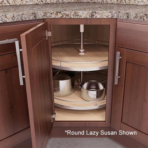 lazy susan organizer for kitchen cabinets vauth sagel recorner susan kidney lazy susan 18 inch maple 9682