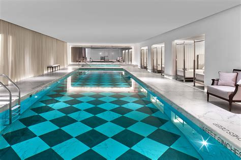 best hotels with indoor pools in spas or rooftops in nyc
