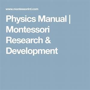 Physics Manual