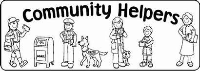 Helpers Community Coloring Pages Preschool Workers Helper