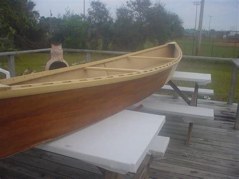 revisiting   friend home built wooden pirogue