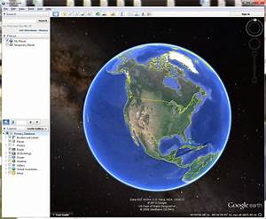 Google Earth Is Black No Satellite Imagery