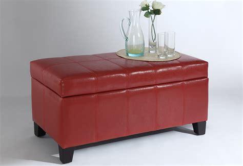 Ottoman Storage Leather Axis Ii Leather Storage Ottoman