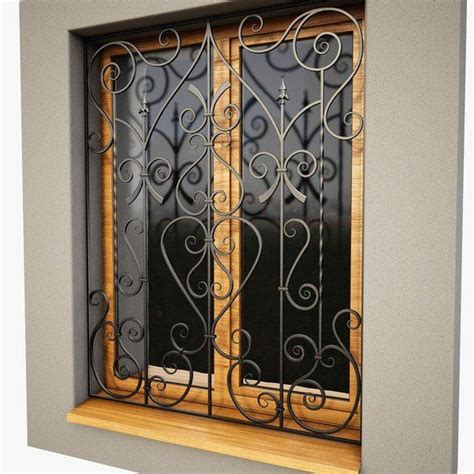 Decorative Security Bars For Windows And Doors by Best 25 Window Bars Ideas On Window Security