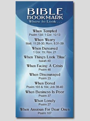 bible bookmark gospel tract society