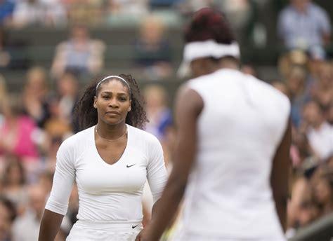 serena venus williams doubles semi final match