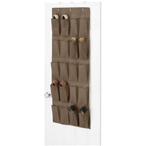 the door shoe organizer brown 15 95 organize