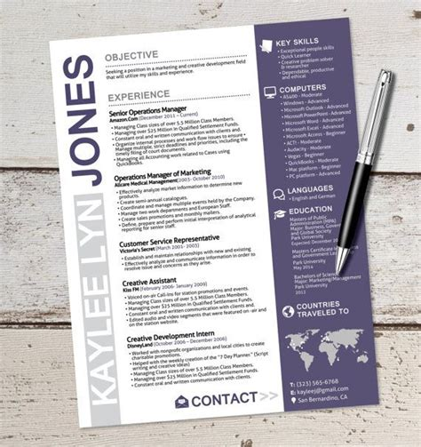 Graphic Artist Resume Sles by 17 Best Ideas About Graphic Designer Resume On Resume Design Resume Layout And Cv