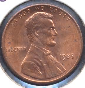 1988 Rare Lincoln Pennies