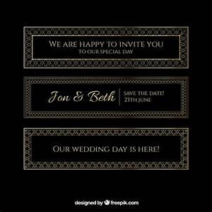 golden wedding invitations vector premium download With golden wedding invitations free downloads