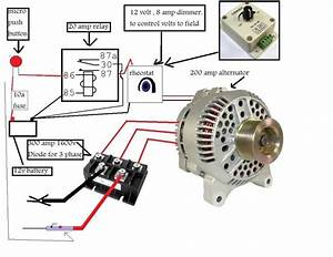 How To Wire An Alternator To Weld