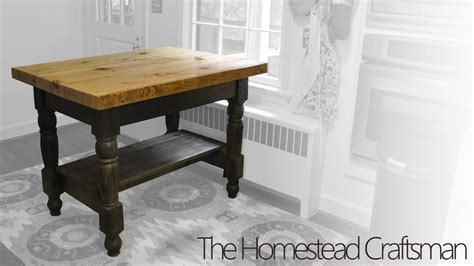 kitchen cart island building a kitchen island from reclaimed wood