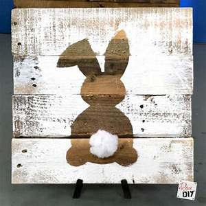 Easter Decorations: 10 Easter Bunny DIYs Diva of DIY