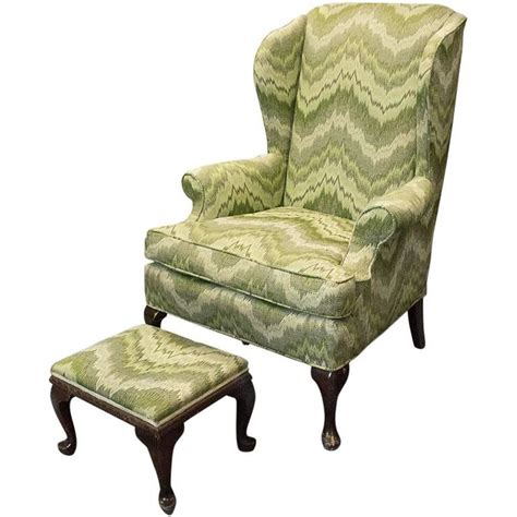style wingback chair at 1stdibs