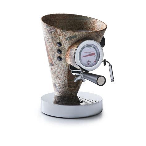Casa bugatti è un'azienda italiana specializzata in articoli per la tavola e per la cucina,articoli d'arredamento di design e piccoli elettrodomestici. Espresso coffee machine, Individual - Newspaper - CASA Bugatti
