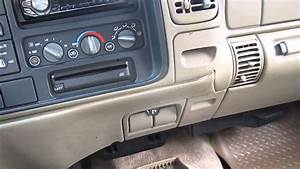 1998 Chevy 1500 Pickup Heater Problem