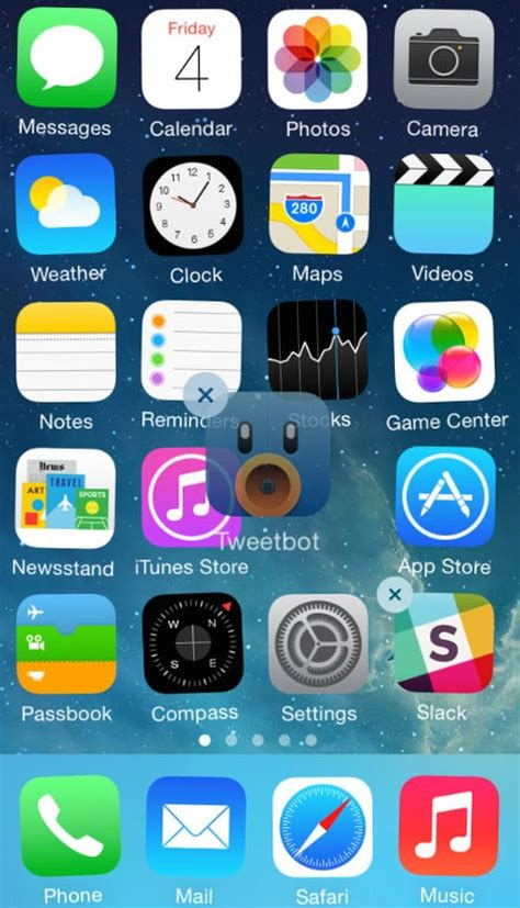 how to move icons on iphone how to rearrange app icons on your ios home screen