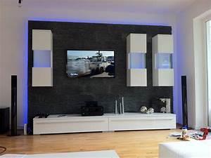 Gips Steine Kleben : beautiful wohnzimmer design steinwand images ridgewayng ~ Lizthompson.info Haus und Dekorationen