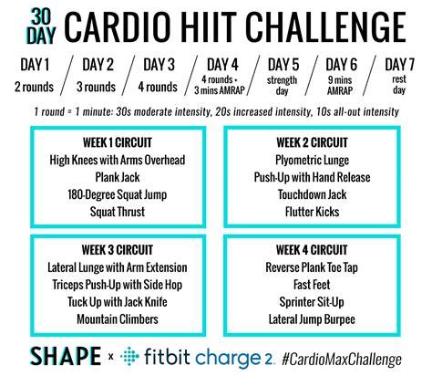 hiit cardio   day challenge lexington athletic club