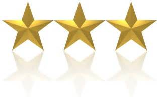 Image result for three gold stars