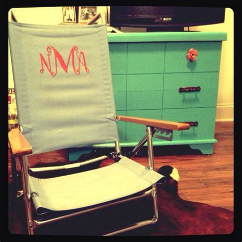 25 best ideas about monogrammed tailgate chairs on