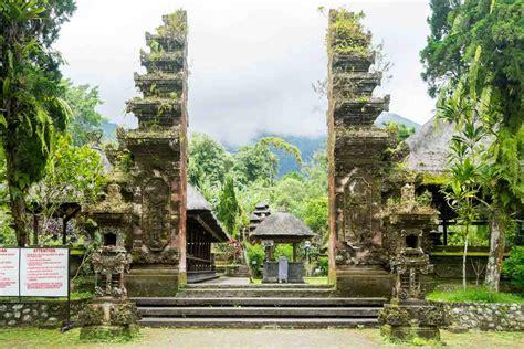 pura luhur batukaru bali temple  stamped