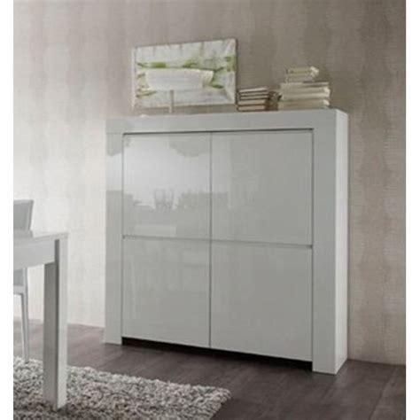 meuble de rangement moderne blanc laqu 233 4 porte achat vente petit meuble rangement meuble