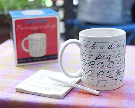 It compliments are cursive worksheets which provide practice in writing letters, joins, words and short texts. Amazon.com: Penmanship Coffee Mug - All of the Cursive ...