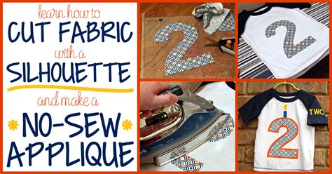 How To Sew Applique by How To Cut Fabric And Make A No Sew Appliqu 233